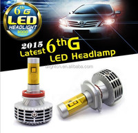 All in one no fan design G6 auto LED headlight kit 9007 for car headlight&motorcycle headlight