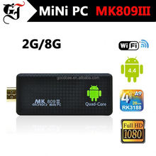 Factory certificated google android 4.4 TV stick with attractive price