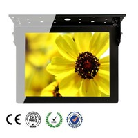 "17"" Roof Fixing Bus LCD Media Monitor USB Update"
