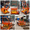 QM4-45 small machines to make money movable block making machine mobile block machine price