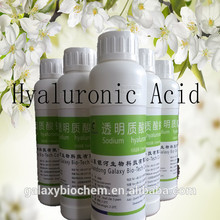 Galaxy de ácido hialurónico suplemento dietético hialuronato de sodio, polvo de ha