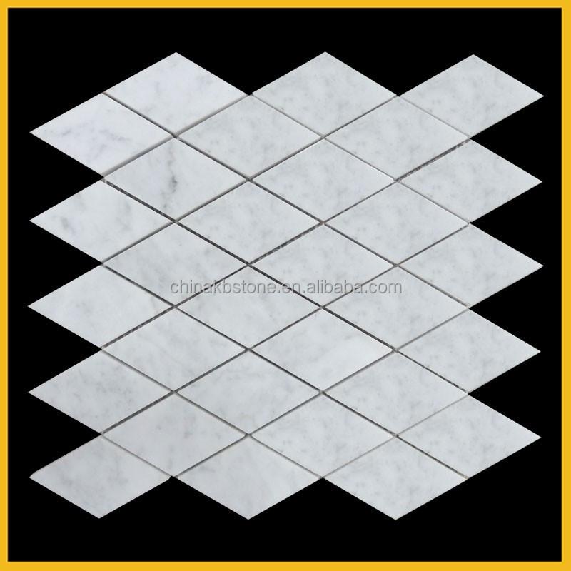 Inspiratie Voor Badkamers ~ Carrara wit marmeren moza?ek, badkamer muur en vloer tegel, keuken