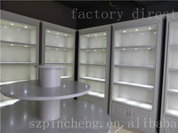 factory direct modern art display showcase , commercial display cabinets