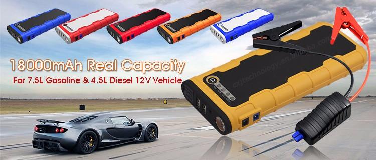 Peak 600A 18000 mAh 66.6WH Gasolina Diesel Reforço Da Bateria de Carro Portátil Carro Saltar de Arranque