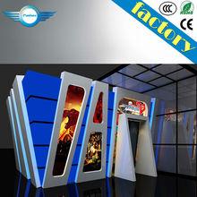 China 7D cinema simulator with 6dof motion seats movable mini amusement rides 5D cinema,7D cinema,9D ciname