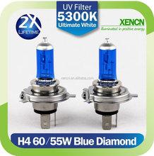XENCN Auto lifetime H4 12V 60/55W 5300K halogen light