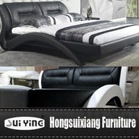 A543 special design leather bed Alibaba Escrow