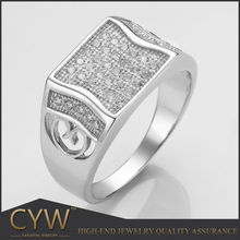 CYW China 925 Sterling silver jewelry Christmas present male ring cheap