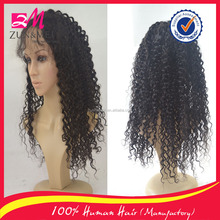 wholesale virgin hair mongolian kinky curly hair full lace wig,full density soft natural human hair wig