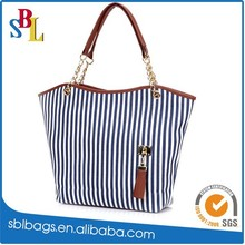 2015 summer canvas fashion bag cheap European women handbag
