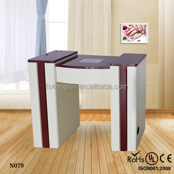 2015 beauty pink nail manicure table for sale kzm n079 for Beauty table for sale