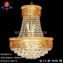 luxury villa chandelier pendant lamp,glass hanging lighting,MDJ0043-14