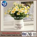 Florero de cerámica de diseño moderno, florero de cerámica de estilo occidental, de porcelana florero de la decoración del hogar