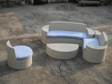 Tommy Outdoor Rattan Furniture Waterproof pool Wicker lounge sofa Garden Sofa Set