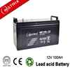 Competitve price 12v 100ah storage battery with good quality