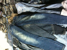 used clothing from korea and japan used clothes for sale men/ladies fashion jean pant rugged jeans of used clothes