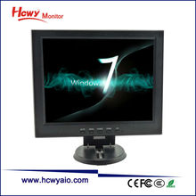 In Stock 12inch LCD Monitor 350 Brightness VGA PC Computer Monitor With Samsung CMO Panel