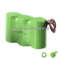 Environmental rechargeable 12v dc battery pack