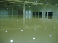 Maydos China Top 5 --- Anti Scratch Epoxy Floor Paint Colors 2mm Thickness 3 steps on Concrete Floor