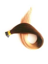 Sticky Italian glue blond 100 keratin tipped human hair extension