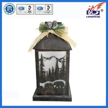 2015 Top Brand LED Lighted Lantern for Holiday Decoration