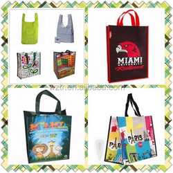 useful shopping bag eco-friendly pp woven tote bag from factory