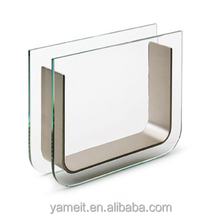 acrylic simple style triangle glass vase