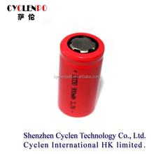 3.7v 900mah li-ion battery samsung 18350 lithium rechargeable battery