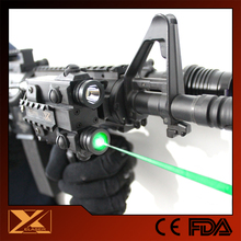 Waterproof green laser pointer with flashlight for ak 47
