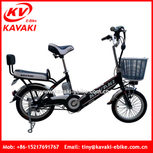 Guangzhou Kavaki Electric Bike Factory Outlet 36V 8Ah Lithium Battery Operated Bike For Adult
