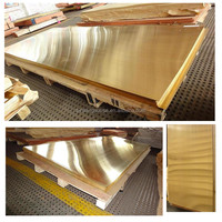 Hot Sale Polished 2mm Brass C27200 sheet For Decoration