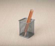beautiful square pencil holder