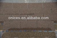 Wood Brown asphalt shingle