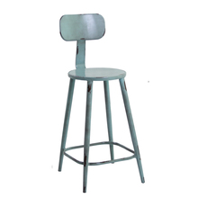 American style aluminium vintage side bar chair