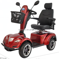 Big wheels luxury dual seat handicapped electric mobility scooter