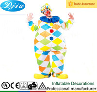 DJ-CO-152 INFLATABLE CIRCUS CLOWN ADULT MENS WOMENS FUNNY KIDS FLOWER FRUITS FANCY DRESS HALLOWEEN COSTUME