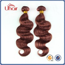 Best selling new products body wave women hair weavon natural brazilian hair pieces