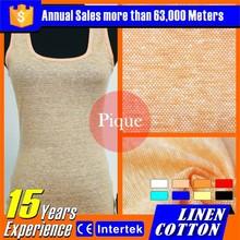 2016 popolare ingrosso di lino tessile tessuti di arredamento per negozio di abbigliamento
