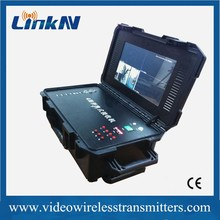 C600 High Quality Integrated All-in-One Four- Way cofdm transmitter and receiver kits