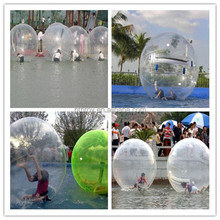 inflatable floating water walking ball