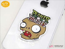 Low cost hight quality eco-friendly cartoon design sticker mobile screen cleaner