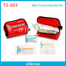 Convinient auto ce fda iso approved road first aid kit