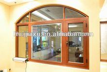 Aluminum casemnet window for hot sales fashion design window fixed glass opening window in guangzhou factory
