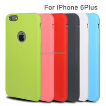 Candy mix color PC cell phone case for iphone 6 plus, soft case for apple iphone 6 plus