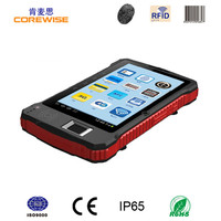 Industrial Android Fingerprint RFID Reader, QR Code Scanner touch tablet with sim card(A370)