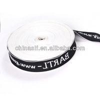 Custom pattern Woven luggage strap PP Webbing band