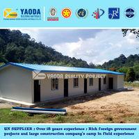 18years&UN supplier--Prefab T house--Built in Mozambique