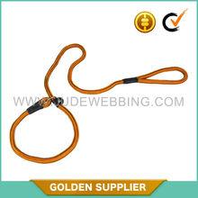 Adjustable nylon rope dog leash