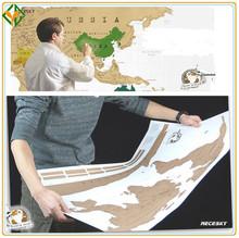 antique viagem zero mapa do mundo para o viajante