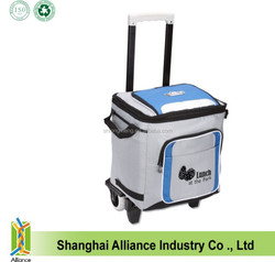 New style wine cooler trolley bag with custom logo printing